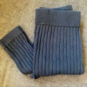 NWOT Ladies Cable Knit Tights / Leggings - Size L